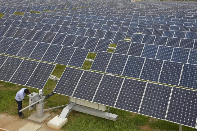 Chennai First 187 Blog Archive 187 Solar Plant Project Takes Off
