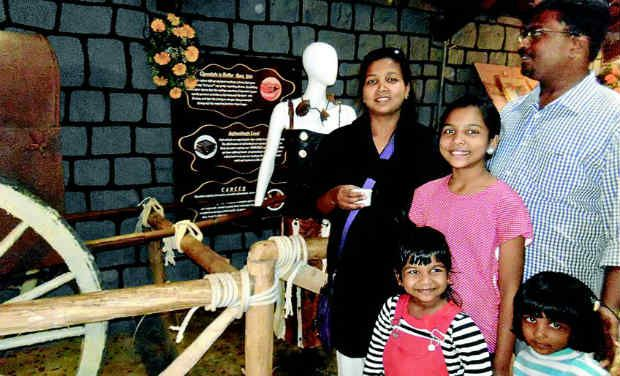 Chocolate lovers at the newly-opened museum in Ooty. / -  DC
