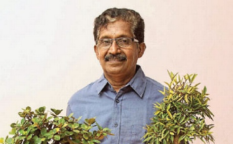 Ravindran has been growing bonsais, lots and lots of it, for the last four decades on his one-and-a-half acre garden in Nagercoil, Tamil Nadu. | EPS