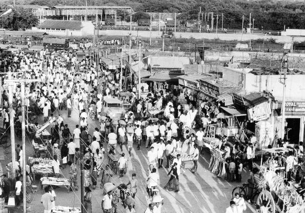 Chennai's expansion, fuelled by the establishment of premier institutions and the creation of a railway hub, has bolstered Tambaram's status as an important nerve centre in the immediate vicinity of the city's limits. Photo: The Hindu Archives