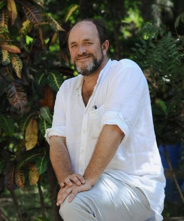Historian William Dalrymple was in the city to speak at the launch of 'Return Of A King' at Starmark bookstore and to deliver a lecture on the same at Stella Maris College. Photo: R. Ragu
