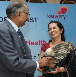 Dr. Suniti Solomon has made great strides in the fields of HIV epidemiology, preven-tion, care, support and research. Photo: R. Ragu / The Hindu
