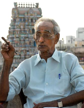Mr. Ranganathan is a theatre enthusiast who ran his own theatre group. File Photo / The Hindu