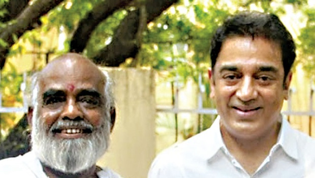 A file picture of director Sakthi with Kamal Hasan