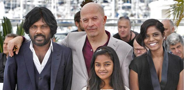 Many of the actors and technical support staff of the film directed by Jacques Audiard were from India —Photo: Special Arrangement