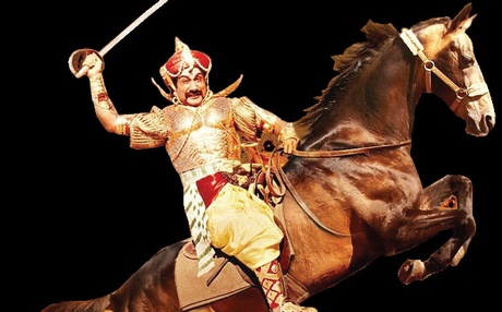 Sivaji in a still from Veerapandiya Kattabomman