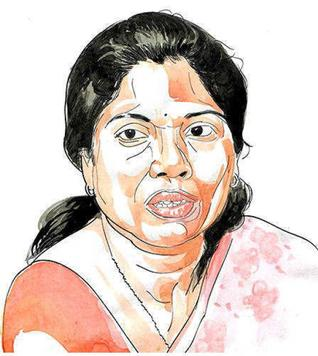 Sivakami, a writer, took VRS from civil service to join politics.