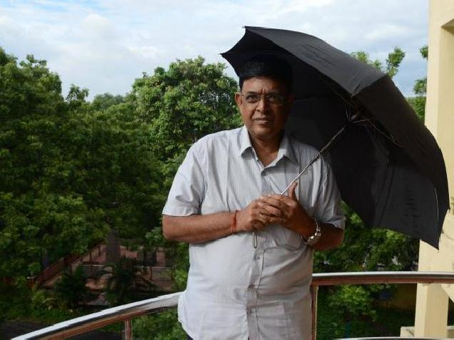 """Some institutions have been asking me to deliver lectures or start a course on meteorology. I don't know what is in store for me,"" says Ramanan. Photo: K.V. Srinivasan"