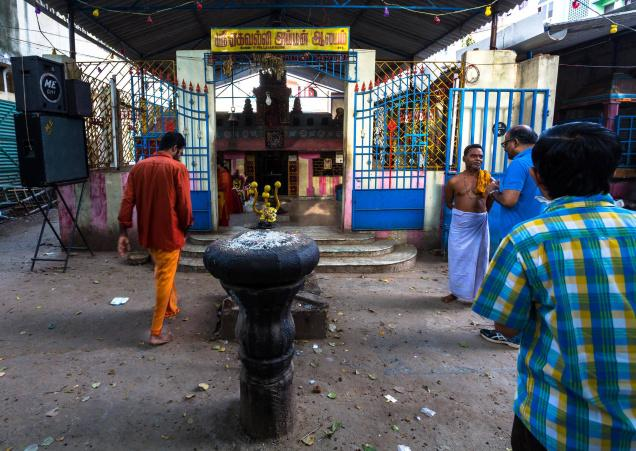 The Ekavalli Amman shrine Photo: Dr Vijay Sriram