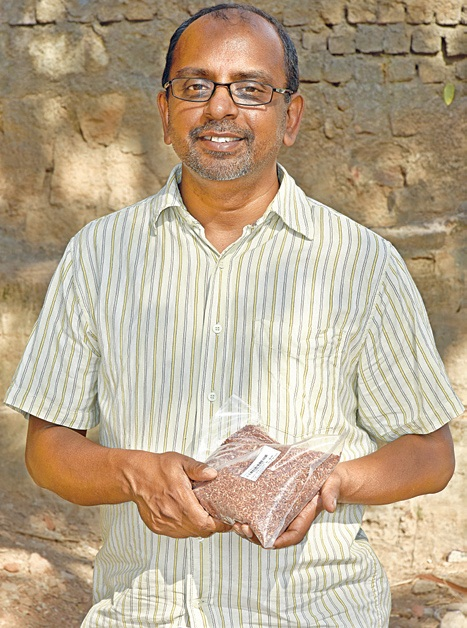 Narayan Murthy, founder of GoodSeeds, which sells organic food and home products