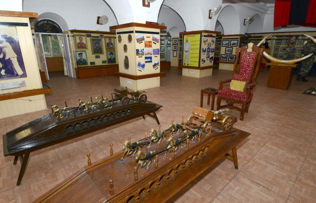 A view of the Museum at Officers Training Academy in Chennai. Photo: K.V. Srinivasan / The Hindu