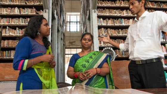 A group of youngsters are stepping into help restore the library to its former glory / PM Naveen