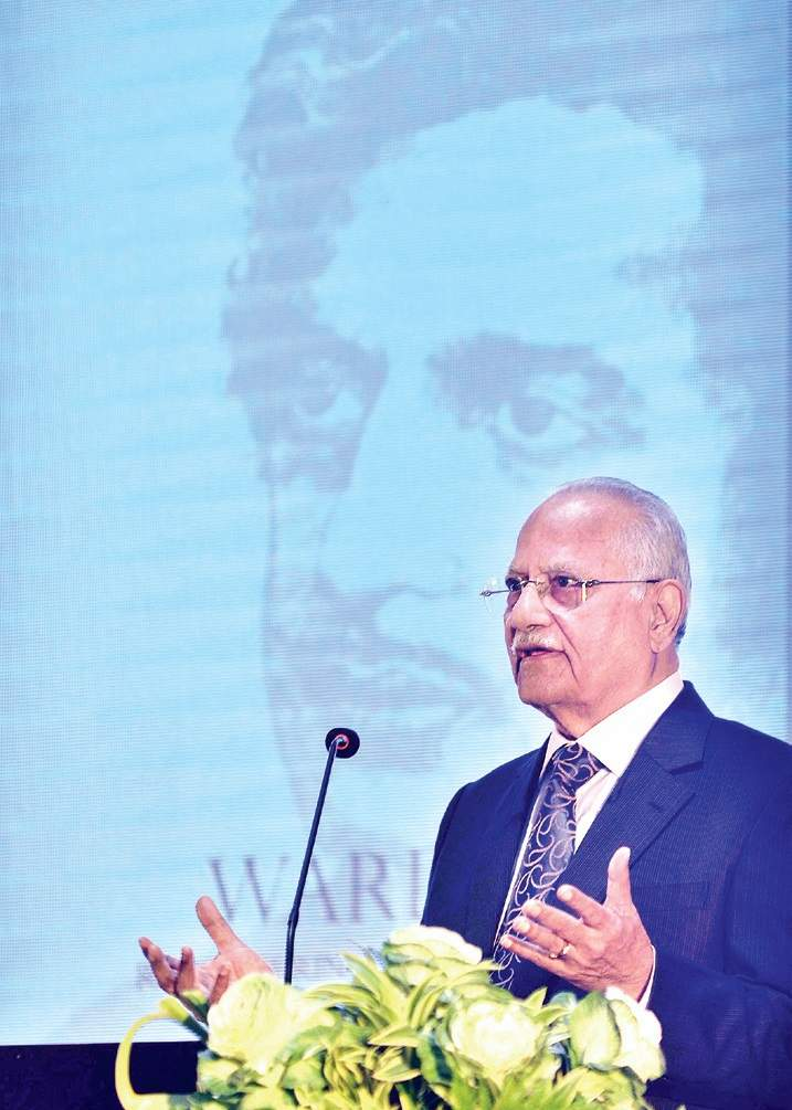 Apollo Group Chairman Prathap C Reddy speaks on late Gastroenterologist Rangabashyam at a function held to launch a book on the latter | P JAWAHAR