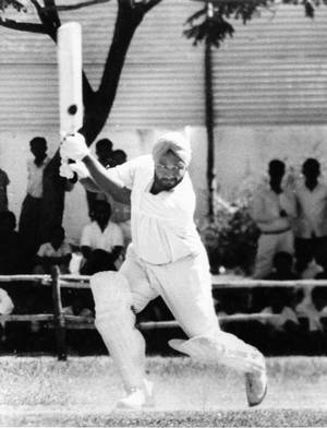 Stylish southpaw: A.G. Milkha Singh had the grace and flow of a natural. The Hindu Archives